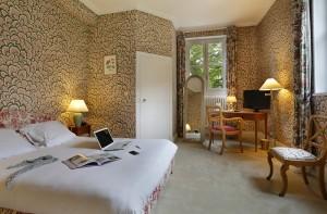 Chambre privilège du château hôtel de La Rozelle