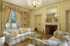 Grand salon du château hôtel de La Rozelle, salon de réception et de séminaire